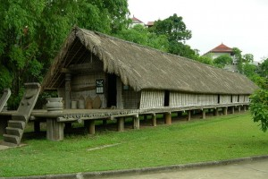 Vietnam Museum of Ethnology, outside