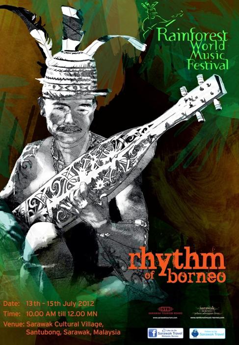 Borneo Rainforest World Music Festival Asef Culture360