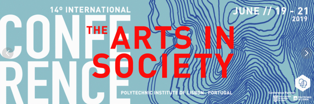 Logo for international conference on the arts in society