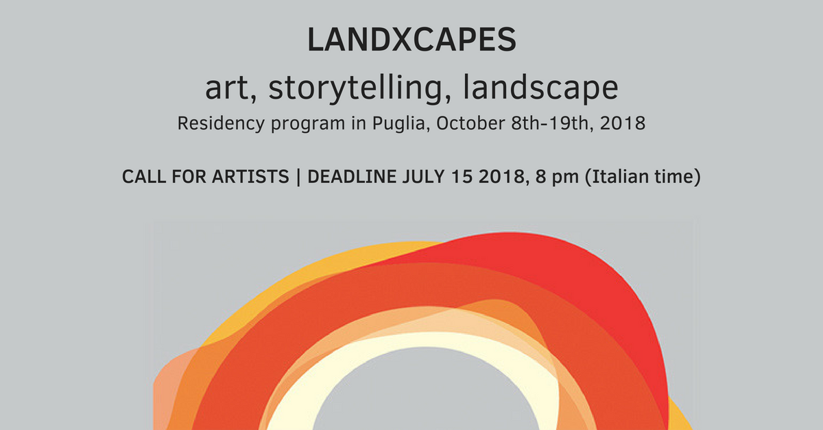 LANDXCAPES residency programme - call for artists from