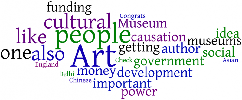 culture360.org comment word cloud