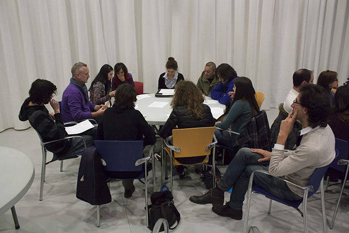 Conference on Artist Mobility organised by Art Motile. MAC, A Coruña, Spain, 2013