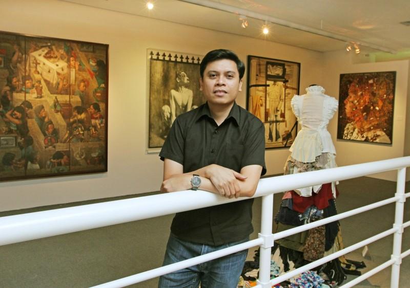 Curator Patrick Flores