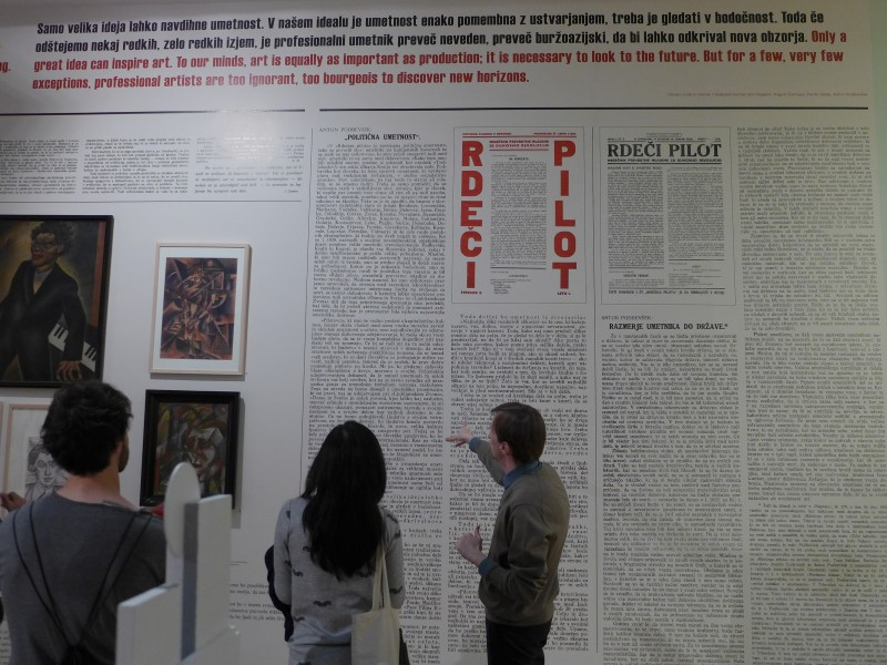Curator's walk-through with Marko Jenko in the exhibition 20th Century. Continuities and Raptures (Moderna Galerija/ Museum of Modern Art, Ljubljana, Slovenia)