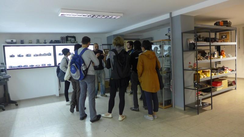 Tour of Transnational Guerilla Art School with Miha Horvat. (Maribor, Slovenia)