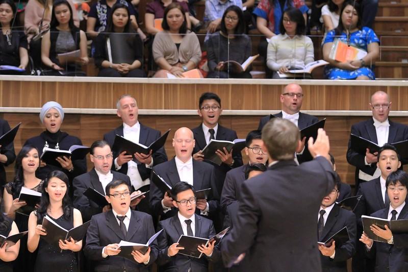 Berlin Radio Choir and student choir of Universitas Indonesia
