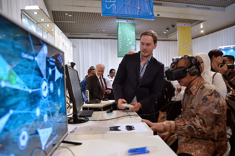 Exhibition Fostering Ideas-German-Indonesian Science and Technology