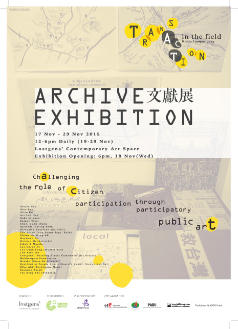 TATF_Archive Exhibition A3 Poster final