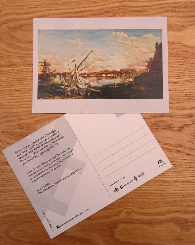 Naqsam il-MUŻA-Community Postcards