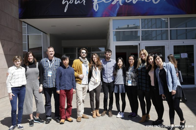 Far East Film Festival Campus participants