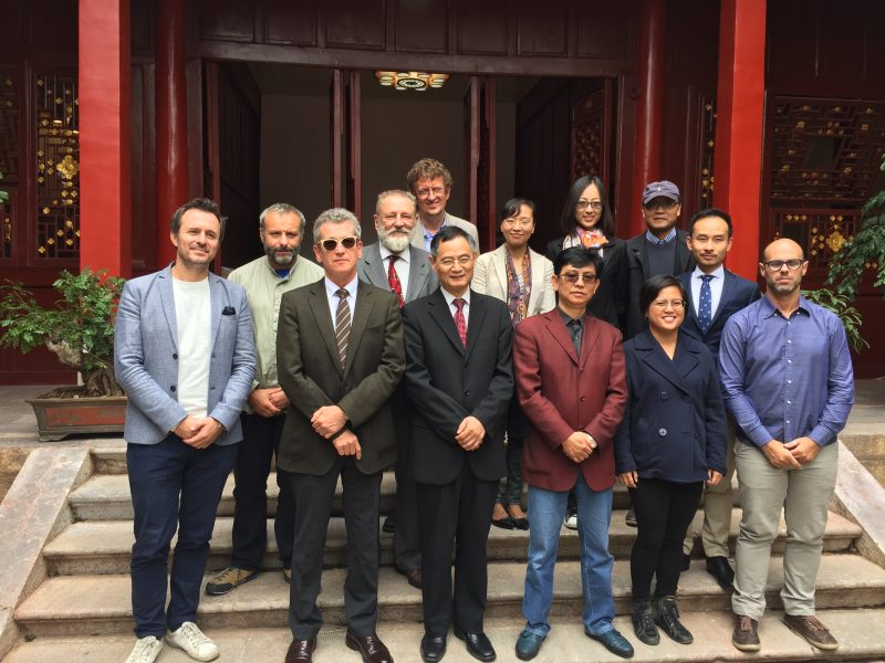 European participants, Director Li Yan (Yunnan University), ASEF, 23 Sept 2016