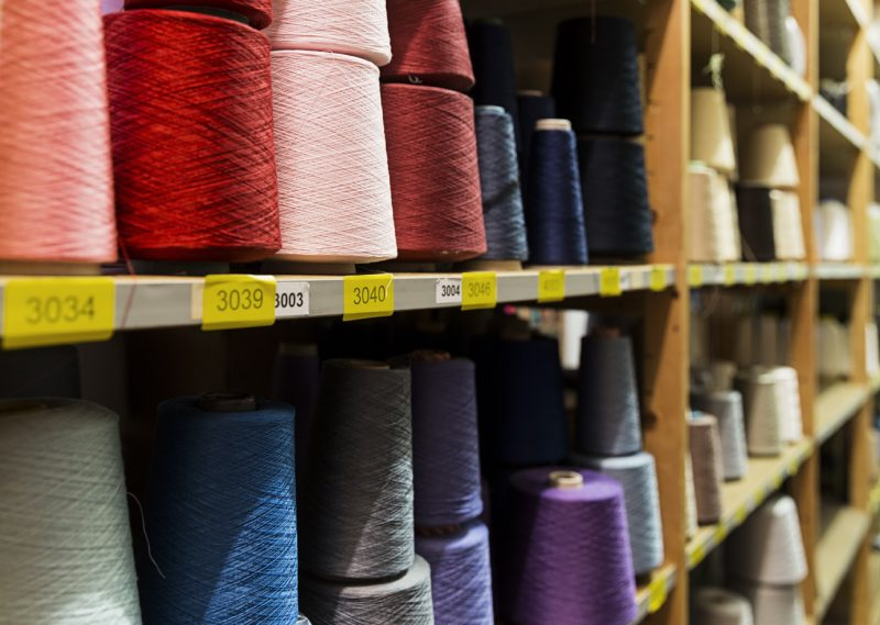 Yarns, TextielLab, 2014 Photo: Josefina Eikenaar/TextielMuseum