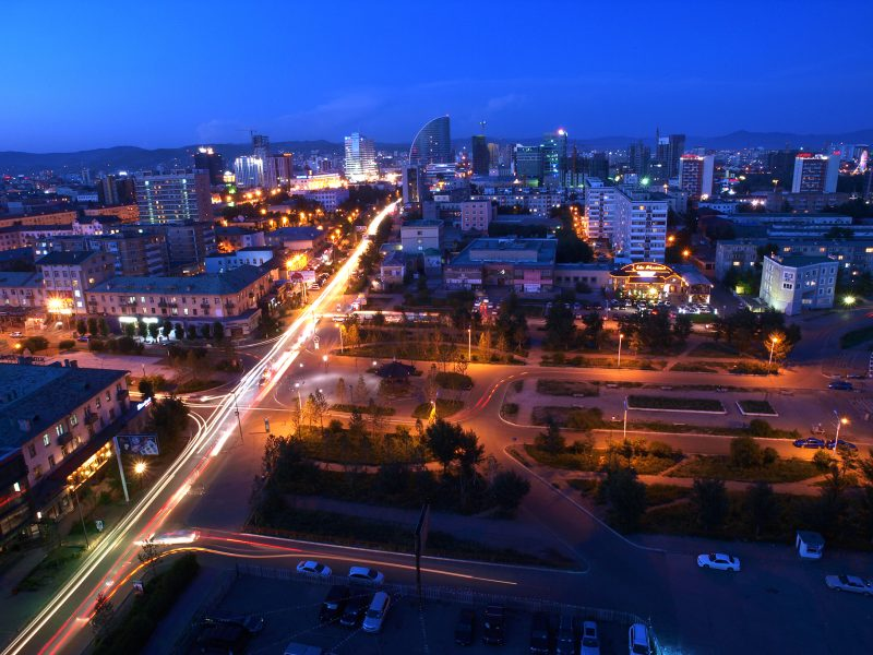 Ulaanbaatar cityscape. Photo credit: Davaanyam