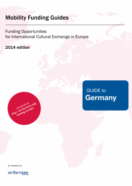 Mobility funding - Guide to Germany