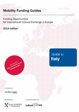 Mobility funding - Guide to Italy