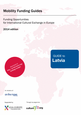 Mobility funding - Guide to Latvia