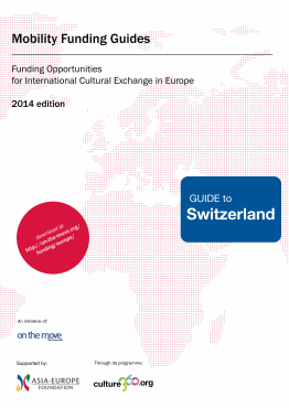 Mobility funding - Guide to Switzerland