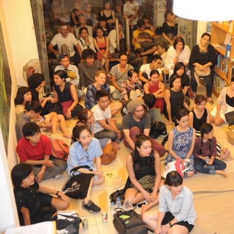 Artist talk: Resident artists from San Art Laboratory, Session 8, @ San Art, 2016