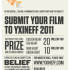 YXINE FILM FEST 2011 | open call