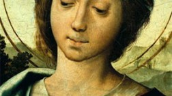Pentecost, predella of St. Margaret, head detail 16th Century (1530-1535) ©IMC/MC