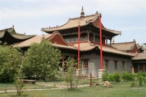 Choijin Lama Temple Museum complex in Ulaanbaatar, Mongolia