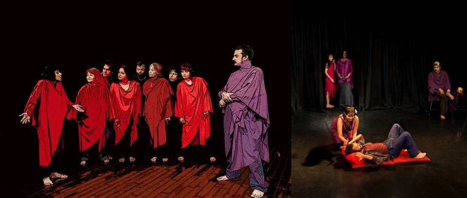 The performance: Lysistrata enjoys 18 continuous shows in India (Photo credit: Studio Kriti)