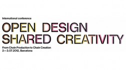 Open Design Shared Creativity | conference