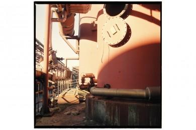 Zollverein Schaft XII #04 (Kokskohlenbunker) 100x100cm C-Print