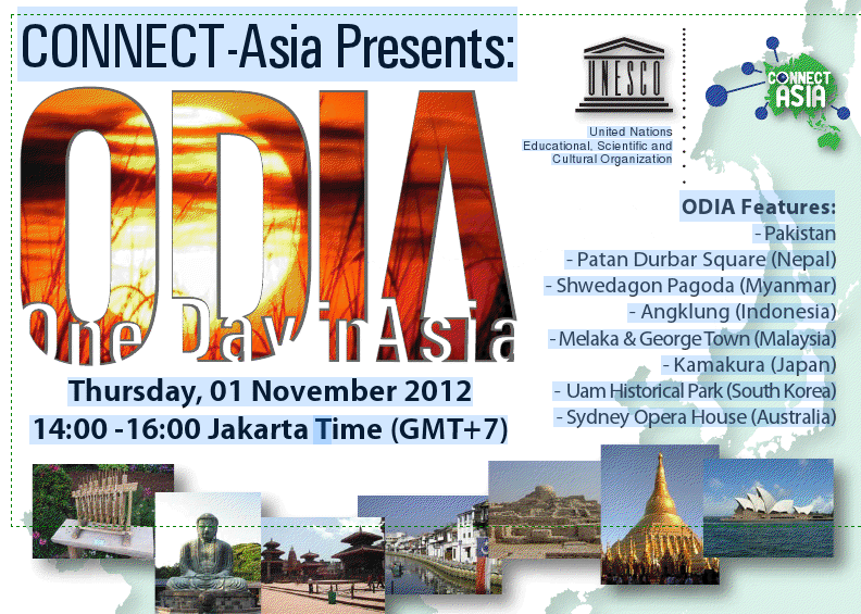 [UNESCO World Heritage] CONNECT-Asia presents One Day in Asia