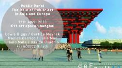 Shanghai | DEFAULT13 Public Panel | Art, Cities and Regeneration