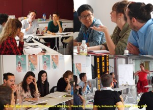 Ties That Bind: Asia Europe Film Producers Workshop, Phase One, Udine, Italy, between 29 April 2014 - 3 May 2014