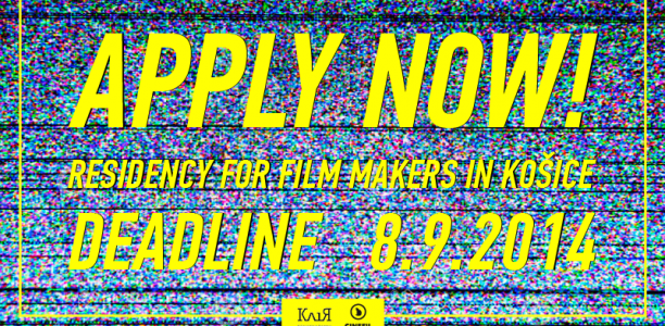 kosice filmmaker residency call