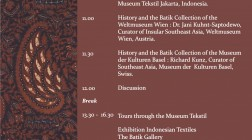Curating Batik | workshops on Batik collections in Asia and Europe