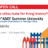 ASEF Summer University in India | Open Call