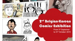 2nd Belgian Korean Comics Exhibition