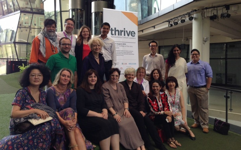Cultural network leaders met at the LASALLE College of the Arts, Singapore in August 2015