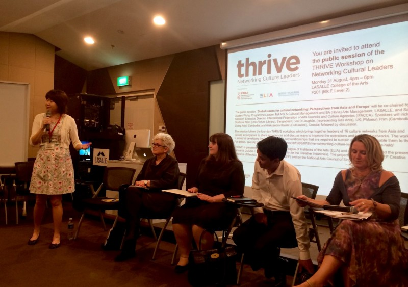 Public Forum as part of THRIVE-Networking Culture Leaders in Singapore on 31 August 2015