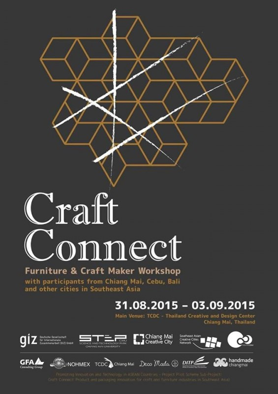 First craft connect and asean crafts sector roundtable in for Asean furniture