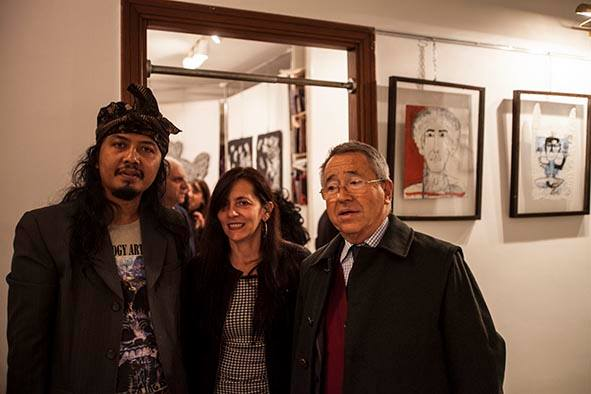 "Opening of ""Attualità Indonesiane"" at Il Ramo D'Oro, Naples"