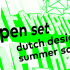 open set dutch design summer school | applications open