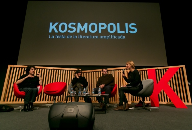 Panel at the Kosmopolis Festival