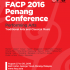 Penang | Federation for Asian Cultural Promotion FACP conference