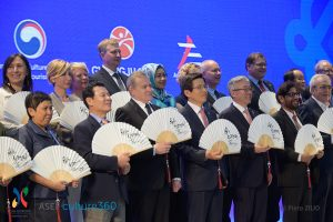 150 high-level cultural officials including 8 Ministers in Gwangju for the ASEM Ministerial meeting © Piero Zilio