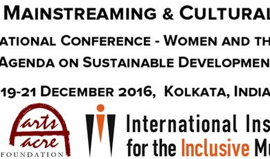 Kolkata   Gender Mainstreaming & Cultural Rights conference   call for papers