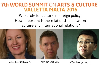 ASEF supports panel on culture and international relations | 7th World Summit on Art & Culture