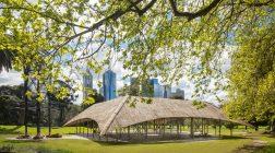 Studio Mumbai's MPavilion lands in Melbourne