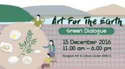 """GALA """"Art for the Earth"""" Green Dialogue   Bangkok"""