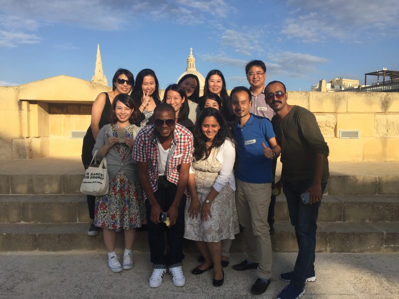 40 young leaders from 20 countries were selected to participate in the Global Cultural Leadership Training Programme