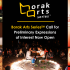 Borak Arts Series | Call for Preliminary Expressions of Interest