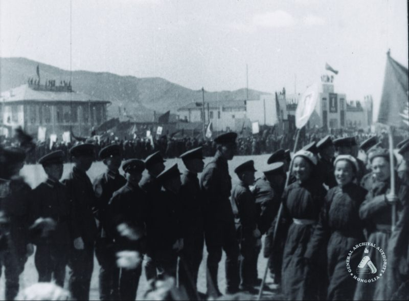 Mongolian Democratic Revolution. Photo credit: Mongolian National Archives